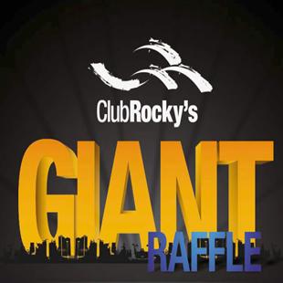 Giant Raffle at Club Rockys